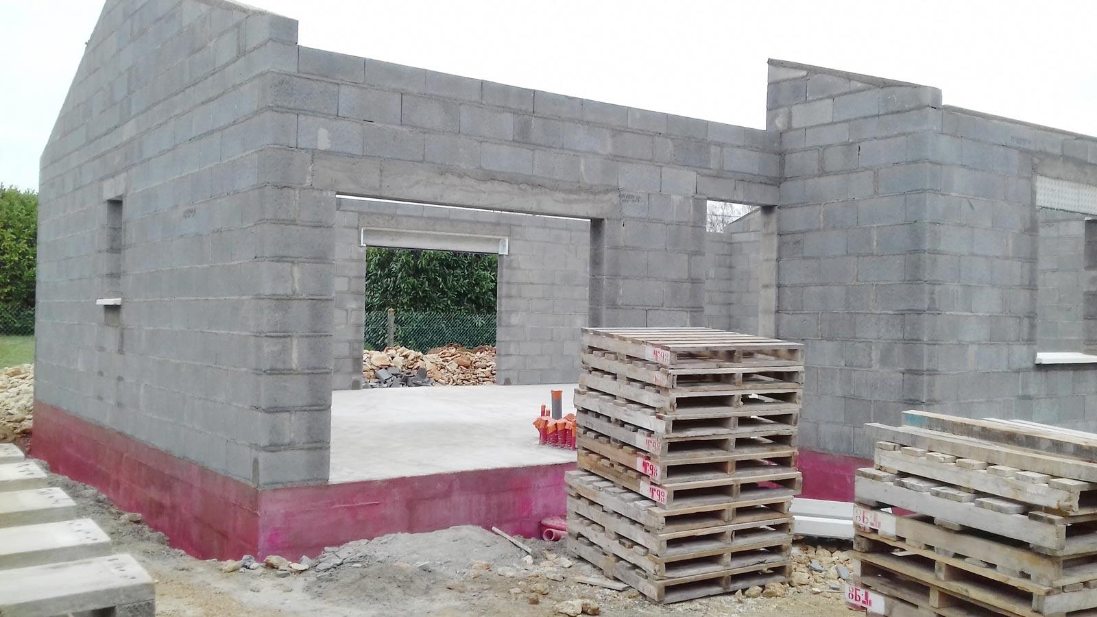 matériaux de construction pour maison