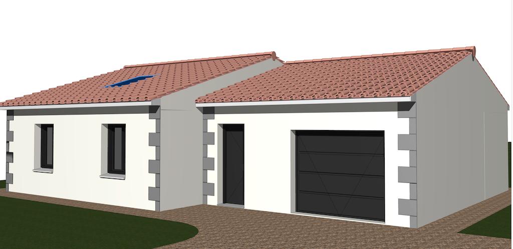 Exemple de construction de maisons HTM
